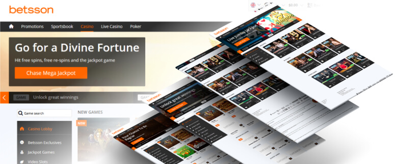 betsson online casino review